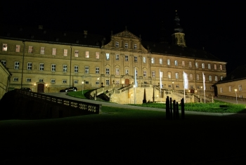 THW macht Licht: Da strahlt Kloster Banz