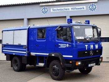 Fahrzeug der 2. Bergungsgruppe: GKW II
