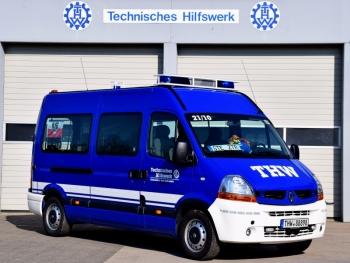 Fahrzeug des Zugtrupps: Renault Master