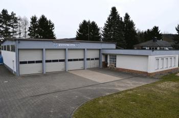 Die Unterkunft des Ortsverbandes Bad Staffelstein