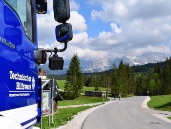 G7-Gipfel: Das THW Bad Staffelstein war zur Unterstützung in Elmau vor Ort