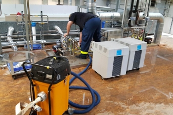Wassereinbruch: In Redwitz standen unter Andrem Teile eines Industriebetriebes unter Wasser