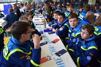 Jubiläum: Feier anlässlich des 20-jährigen Bestehens der THW-Jugend Coburg