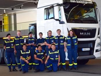 Vom Stahlträger zum LKW: Werksführung bei MAN in München